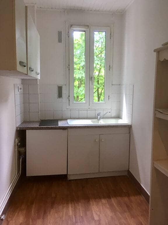location vente appartement 94: 2 pièces 34 m², cuisine avec rangements