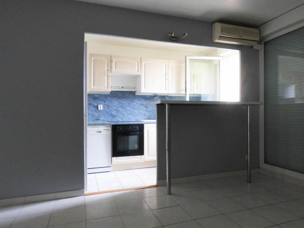 location vente appartement 94: 2 pièces 44 m², cuisine américaine ouverte sur salon / séjour