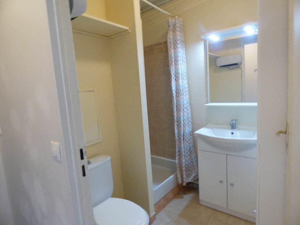 vente appartement maisons alfort: studio 18 m², salle de bain avec douche, wc