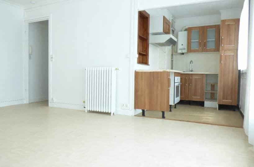 agence immobilière 94 - appartement vitry sur seine 2 pièces de 39.07m² + balcon + cave + emplacement parking - annonce 2271 - photo Im02