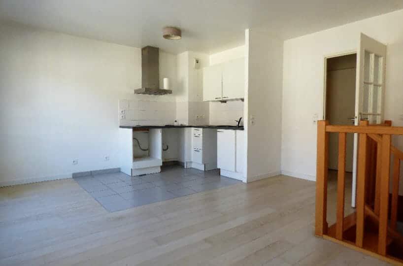 agence immo alfortville: 3 pièces 61 m², beau duplex avec séjour ouvert sur la cuisine