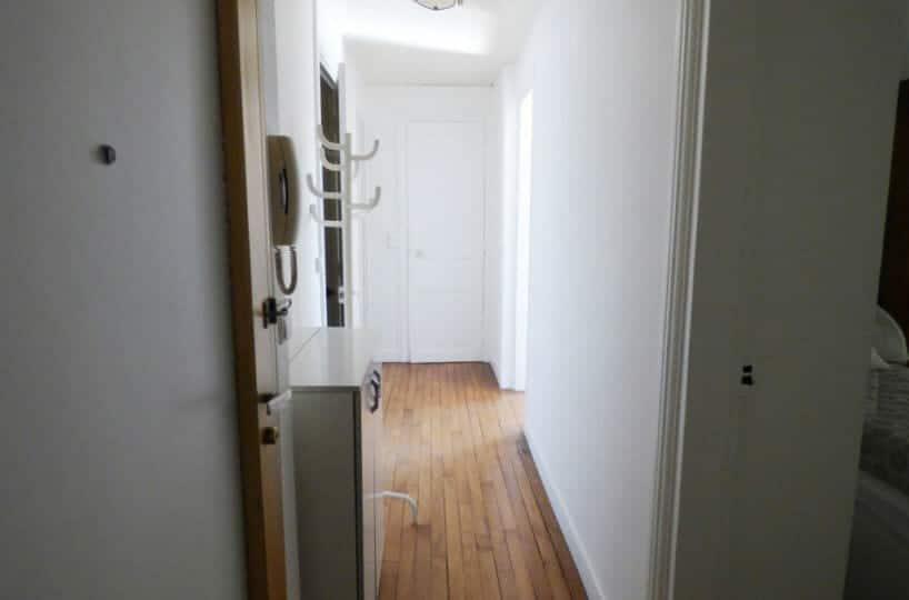 louer appartement à maisons-alfort: 3 pièces 51 m², entrée avec parquet chêne massif, 2° étage sans ascenseur