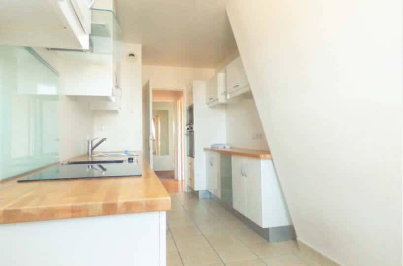 immo maisons alfort: 3 pièces, cuisine indépendante aménagée et équipée: four, plaques...
