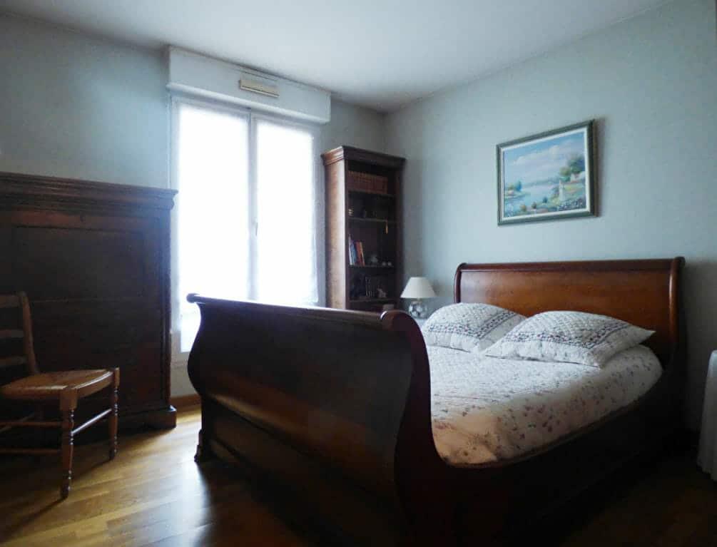appartement maisons alfort: 3 pièces 82 m² à vendre, 1° chambre à coucher, fenêtre avec volet roulant