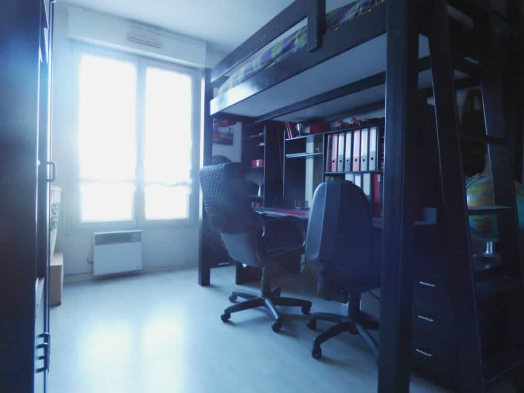 vente appartement maisons alfort: 3 pièces 82 m², 2° chambre lumineuse