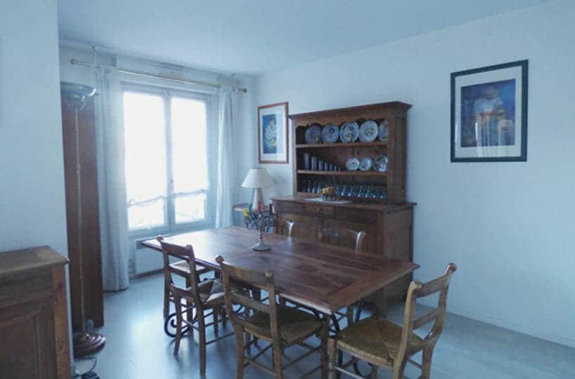 appartement à vendre maisons-alfort: 3 pièces 82 m², salle à manger ouverte sur le séjour