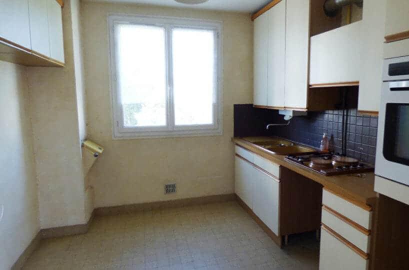 appartement maison alfort: 3 pièces 63 m², cuisine indépendante et aménagée: four, plaques