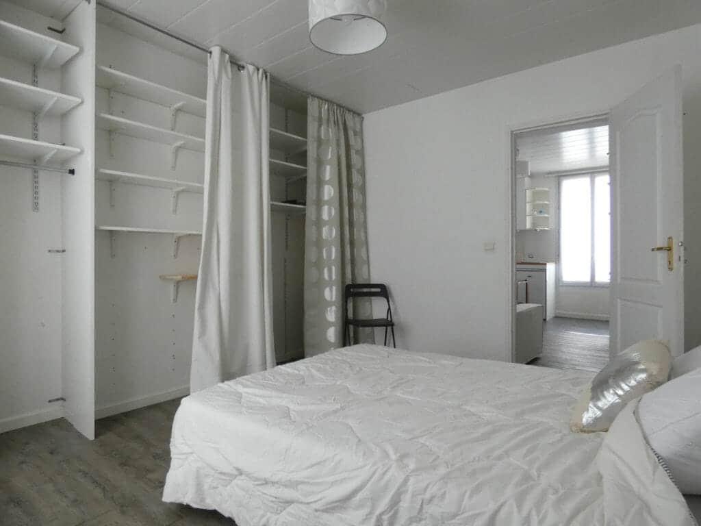 agence immo alfortville: 2 pièces 29 m² au centre-ville, chambre avec dressing
