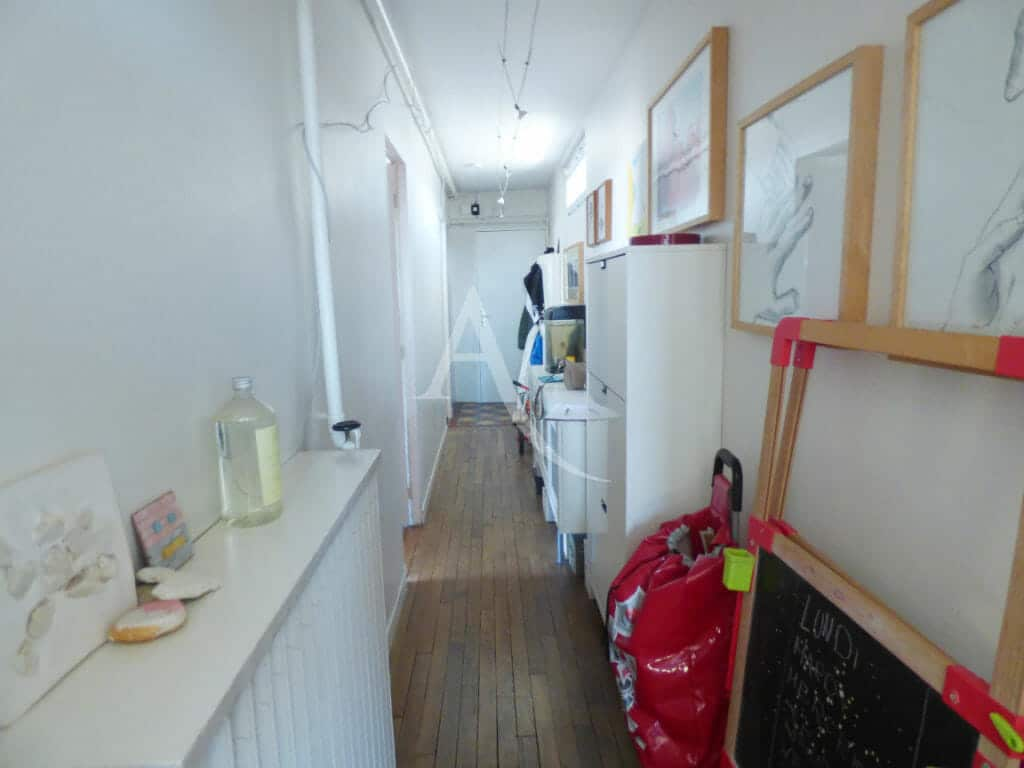 gestion locative alfortville: 3 pièces 54 m², entrée avec parquet chêne massif