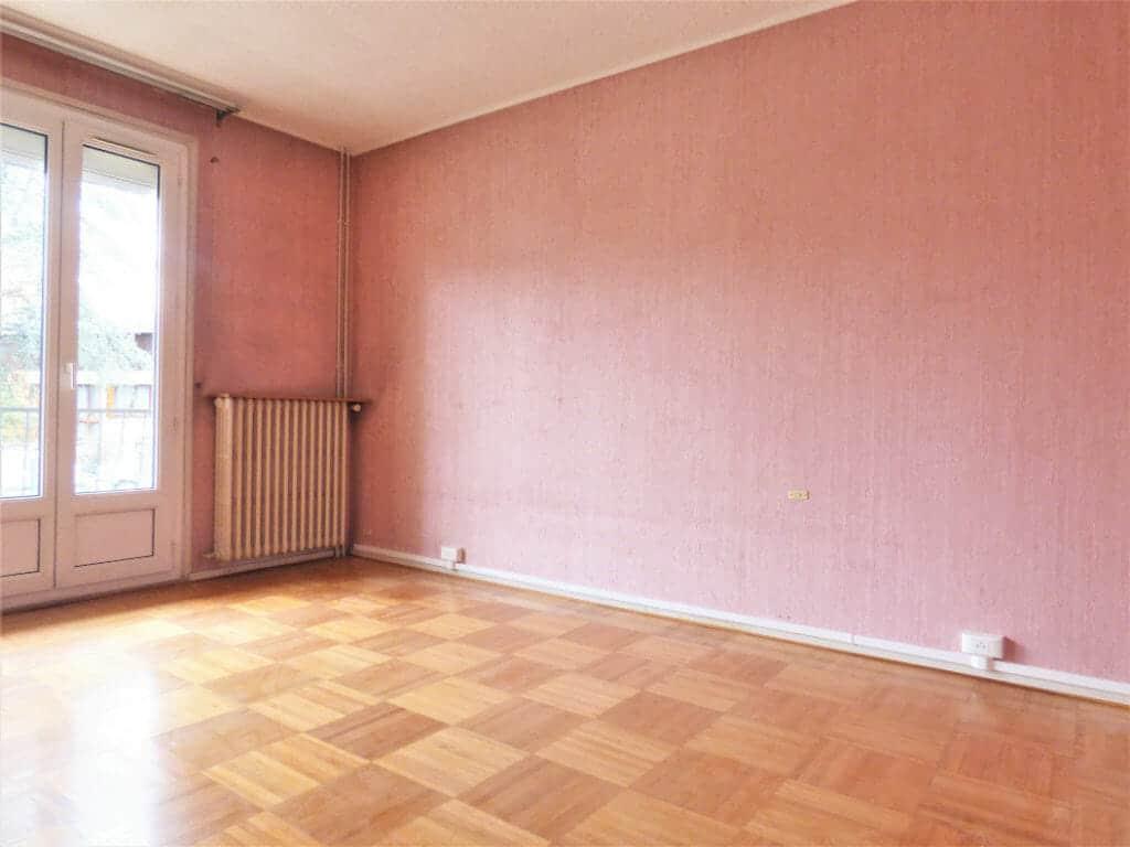 immobilier a louer: appartement 3 pièces 66 m², première chambre accès balcon