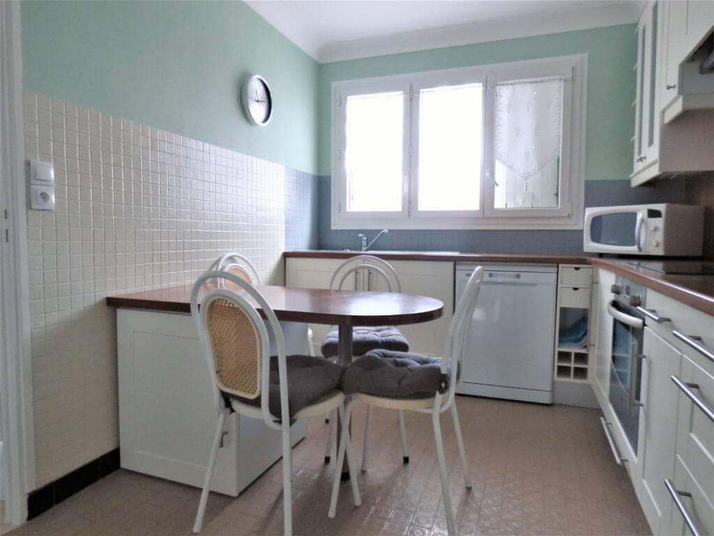 agence de location appartement: 3 pièces 66 m², cuisine aménagée, vitry sur seine