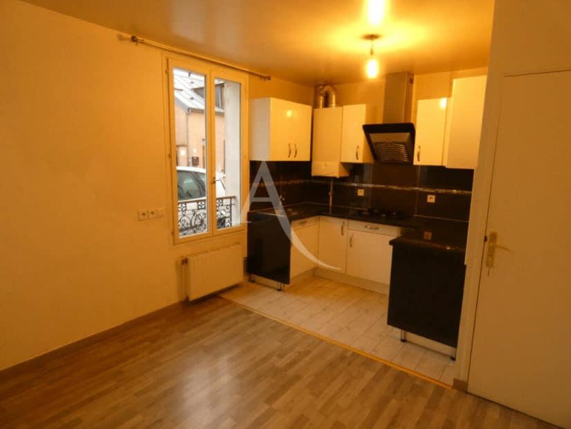 appartement alfortville location: 3 pièces 58 m², cuisine aménagée et équipée ouverte sur le séjour