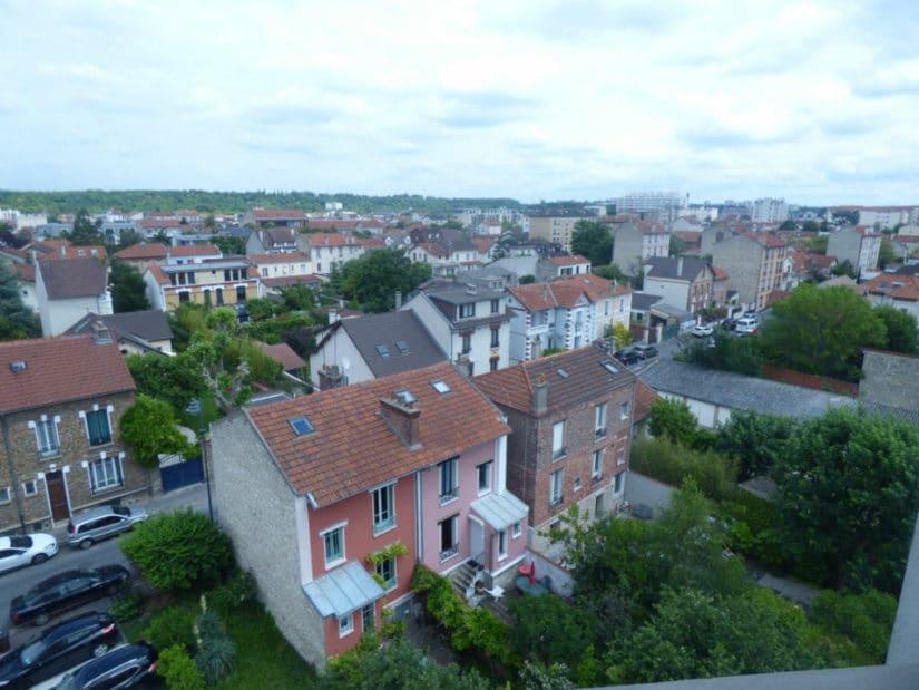 vente appartement maisons alfort: 3 pièces 53 m², 6° et dernier étage avec ascenseur, vue dégagée