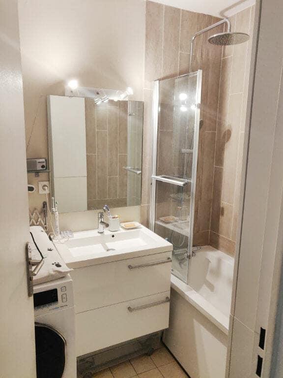 appartement maison alfort: 2 pièces 49 m², salle de bain avec baignoire, possibilité de brancher un lave-linge