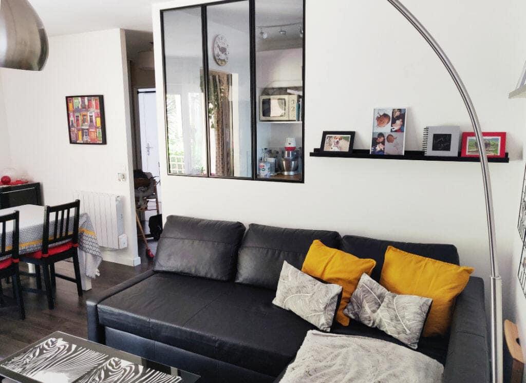 immobilier maison alfort: appartement 2 pièces 49 m², belle pièce à vivre avec terrasse