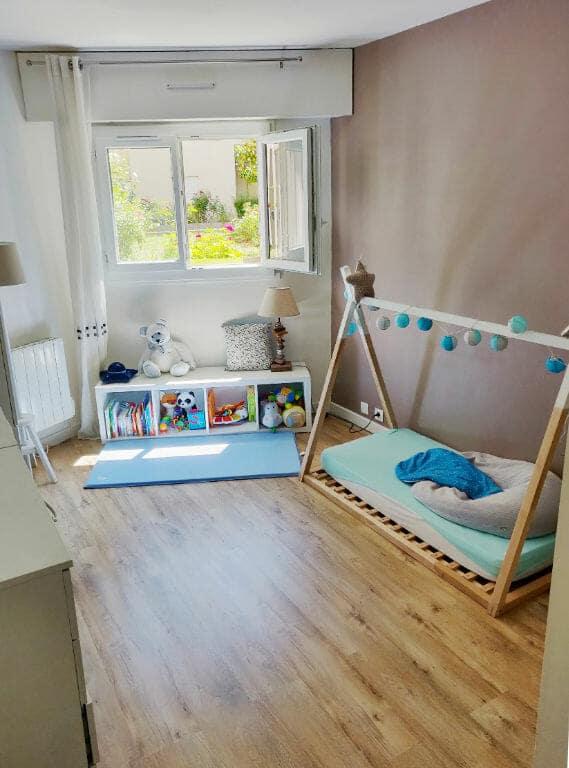 acheter a maisons alfort: appartement 2 pièces 49 m², chambre lumineuse avec vue donnant sur un jardin