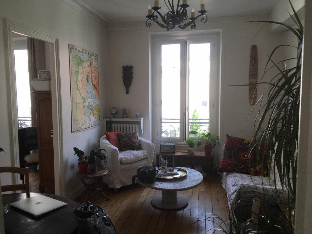 logement maisons alfort: appartement 3 pièces 53 m², beau séjour lumineux, parquet au sol
