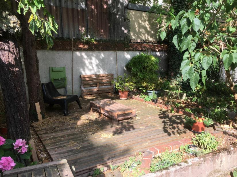location appartement maisons alfort: 3 pièces 53 m² loué avec joli jardin de 27 m²