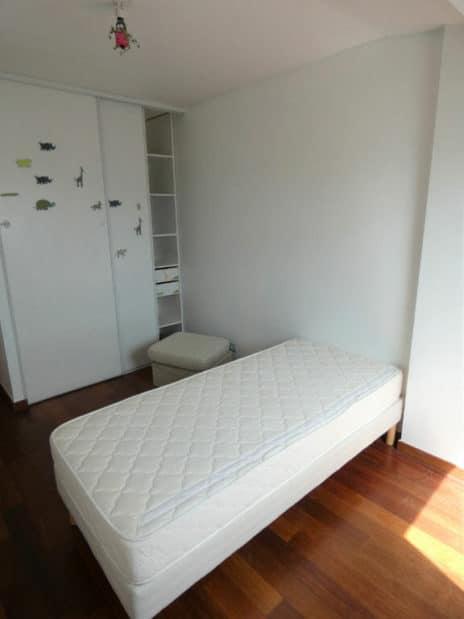 appartement alfortville: 5 pièces 121 m², troisième chambre mansardée avec dressing