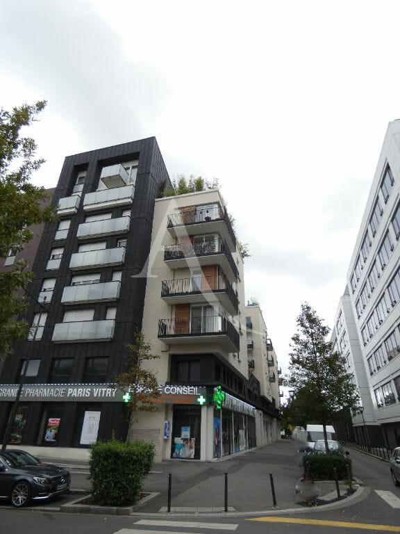 immobilier 94: vente appartement 4 pièces 81 m², résidence calme, parking sécurisé, proche commerces et du rer c, vitry sur seine proche