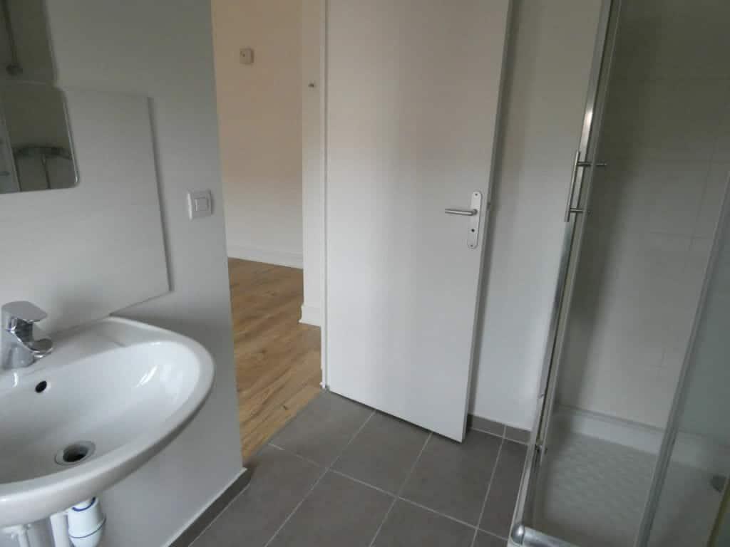 appartement a louer alfortville: 2 pièces 27 m², salle d'eau avec douche, lavabo et wc