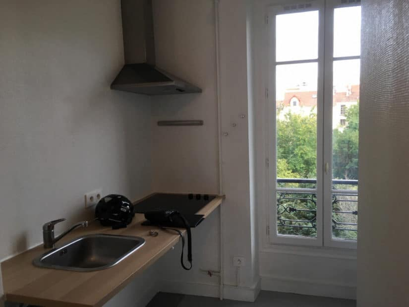 appartement a louer alfortville: 3 pièces 52 m², cuisine indépendante semi équipée