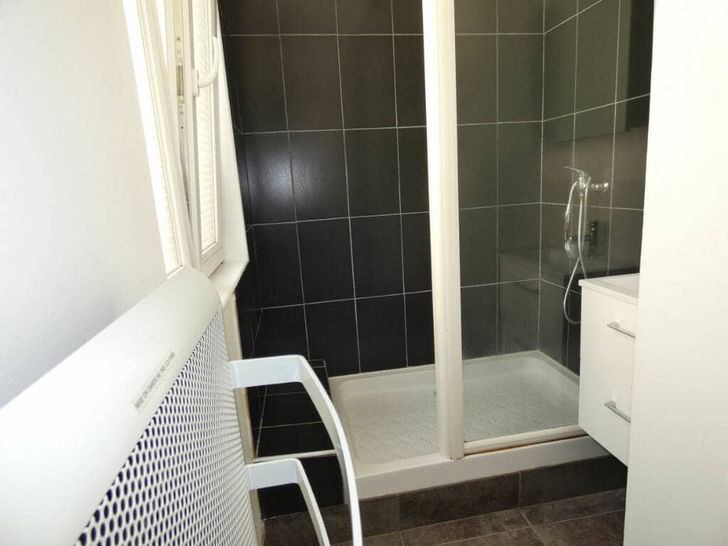 appartement a louer alfortville: 2 pièces 33 m², salle d'eau avec douche