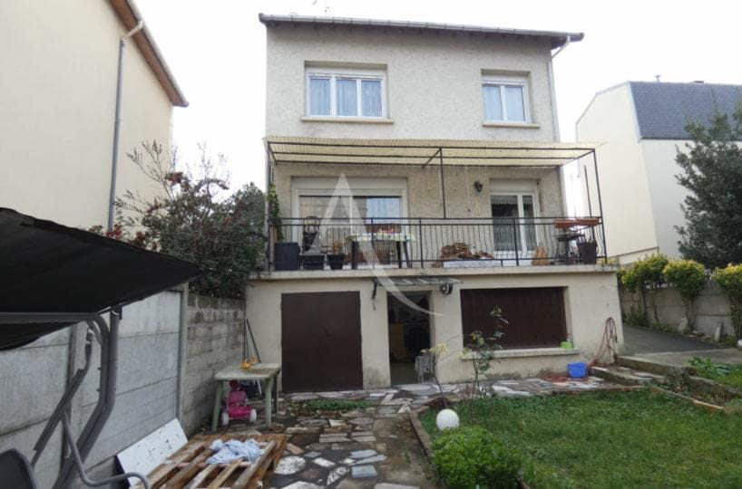 agence immobiliere alfortville: maison 5 pièces 160 m², aperçu du jardin 263 m²