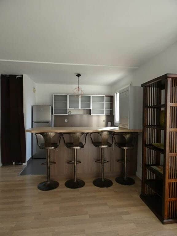 louer appartement à alfortville: 2 pièces 43 m², cuisine moderne aménagée