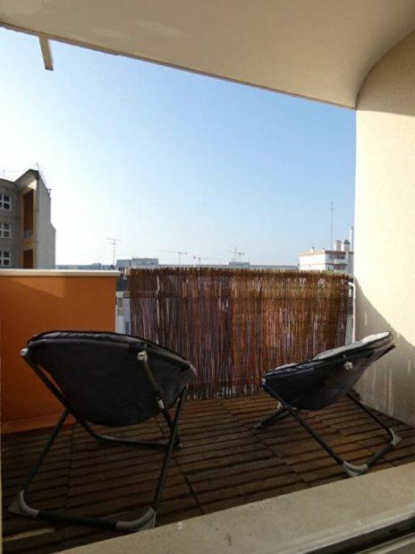 agence alfortville: 2 pièces meublé 43 m², séjour avec agréable balcon