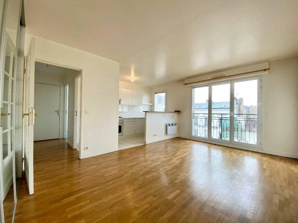 location vente appartement 94: 2 pièces 44 m², entrée donnant sur séjour, saint maurice