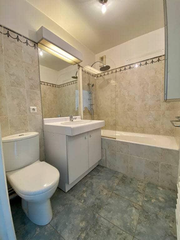 location appartement pas cher val de marne: 2 pièces, salle de bain avec wc, saint-maurice
