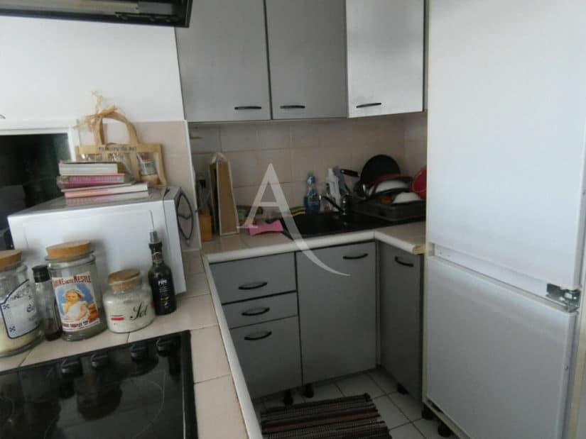 vendre appartement alfortville: 3 pièces 55 m², cuisine ouverte donnant sur la terrasse