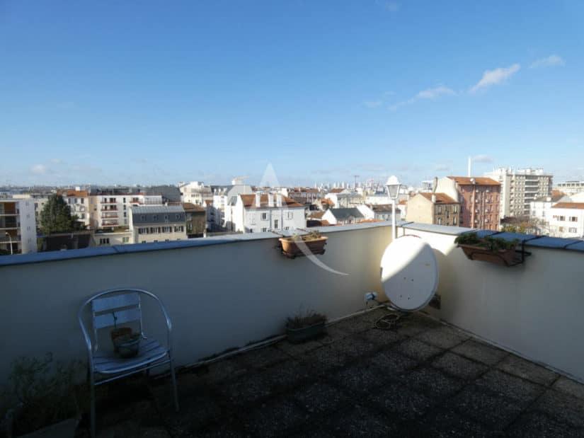 alfortville vente appartement: 3 pièces 55 m², 5° étage/5, vue panoramique