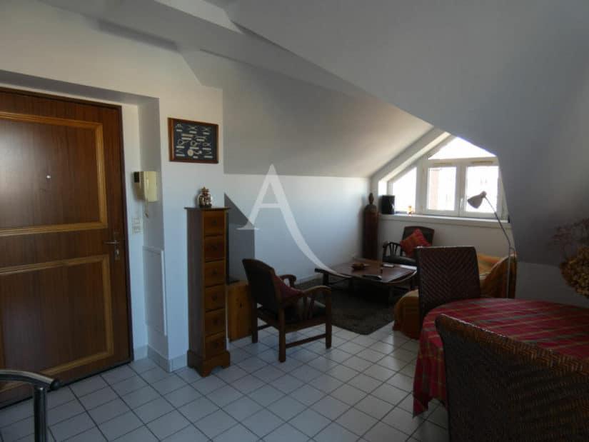 vente appartement alfortville: 3 pièces 55 m², séjour/salle à manger, carrelage au sol