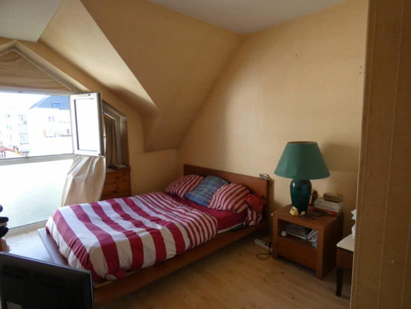 appartement a vendre alfortville: 3 pièces 55 m², chambre à coucher lumineuse