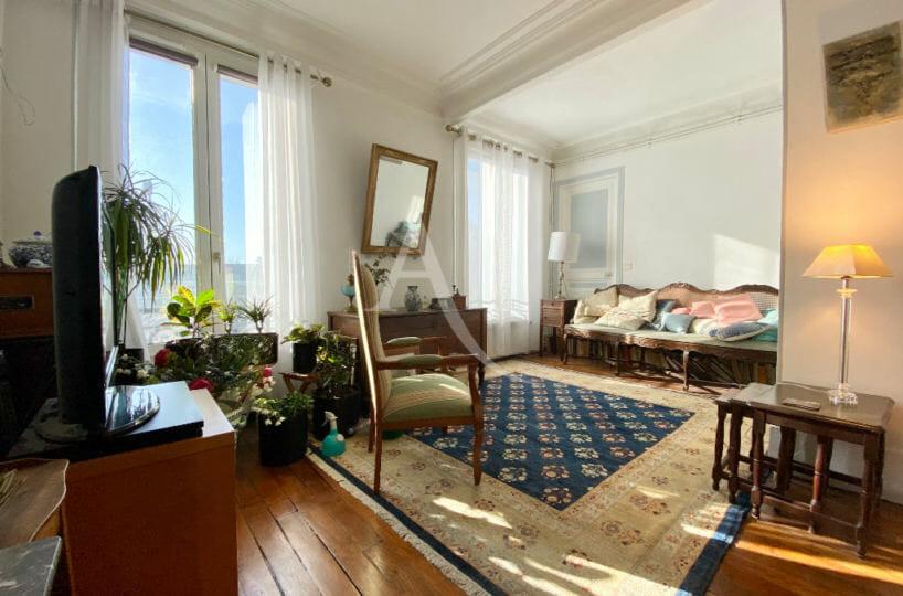 valerie immobilier charenton le pont - appartement 3 pièces 68 m², séjour lumineux