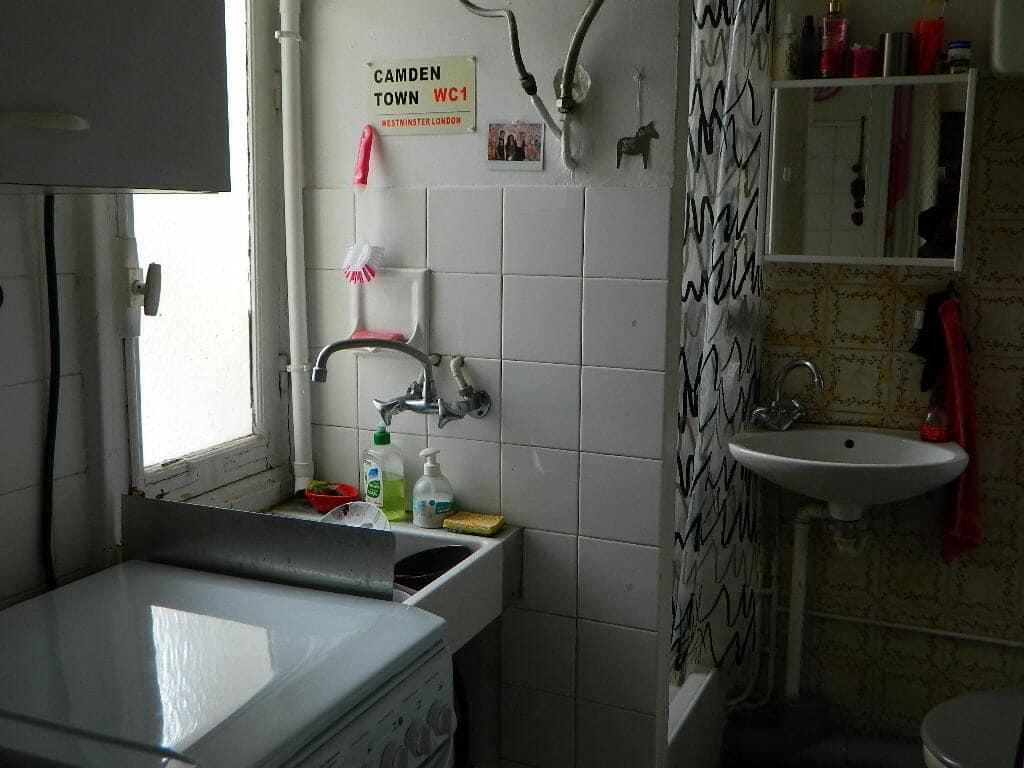achat appartement maisons alfort: studio 16 m², coin cuisine, salle d'eau avec wc