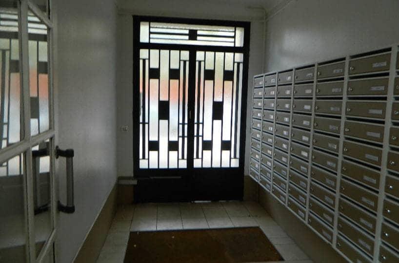 vente appartement maisons alfort: studio 16 m², hall de l'immeuble sécurisé, 7° étage