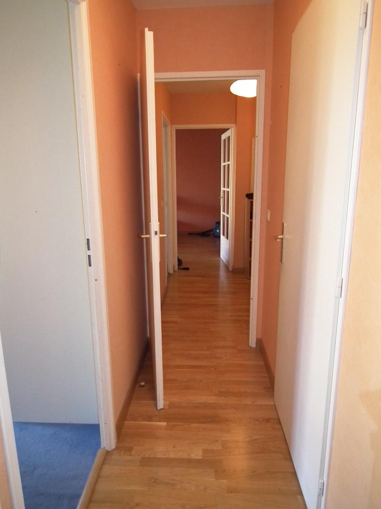 appartement a louer alfortville: 3 pièces 68 m², couloir qui dessert les autres pièces