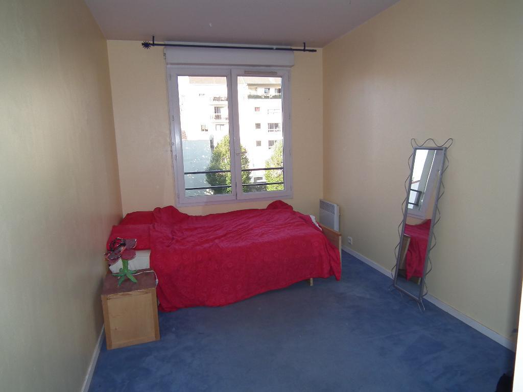 alfortville appartement location: 3 pièces 68 m², deuxième chambre double avec moquette