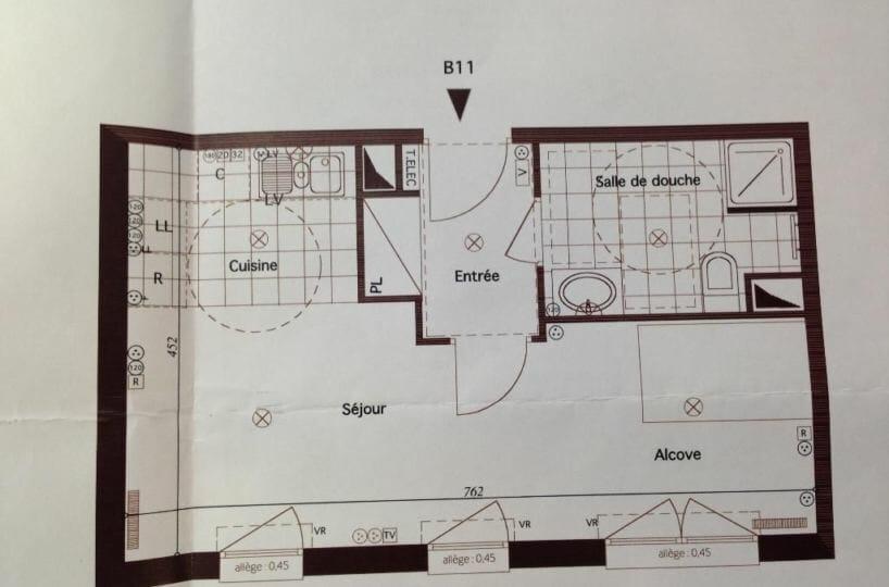 valerie immobilier - appartement - 1 pièce - 33.11 m² - annonce ALF1824 - photo Im01