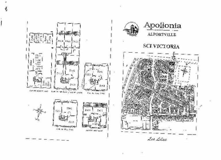 louer appartement alfortville: 3 pièces 58 m², plan de la résidence