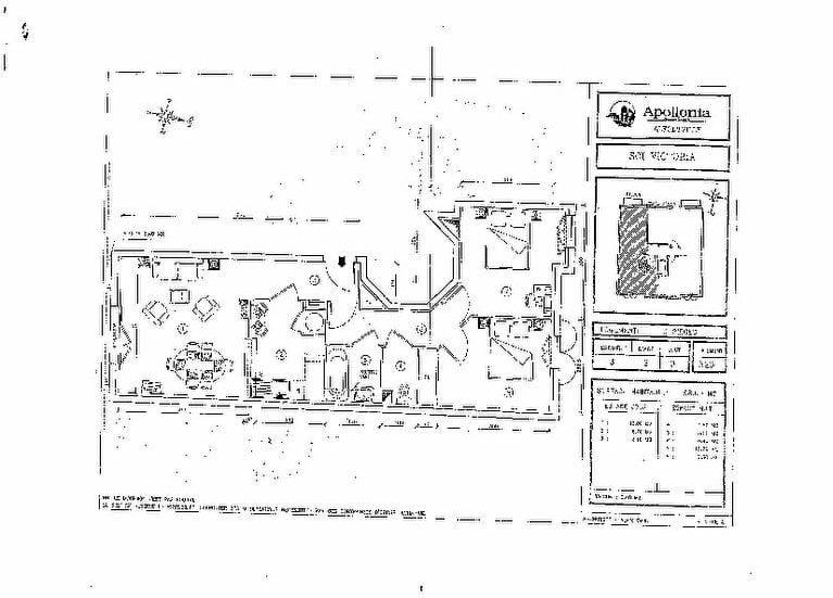 louer appartement à alfortville: plan détaillé du 3 pièces de 58 m²