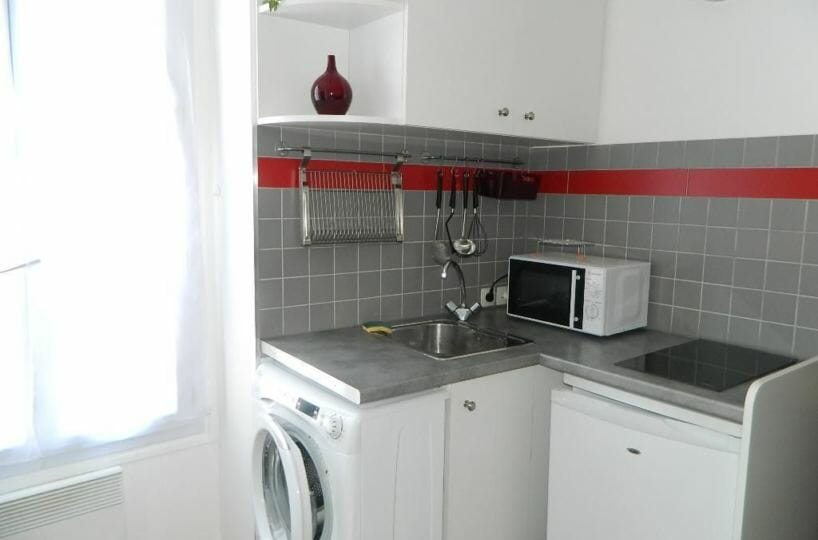 location studio maisons-alfort - appartement les juilliottes - f1 21.81 m² - annonce G208MAF - photo Im02