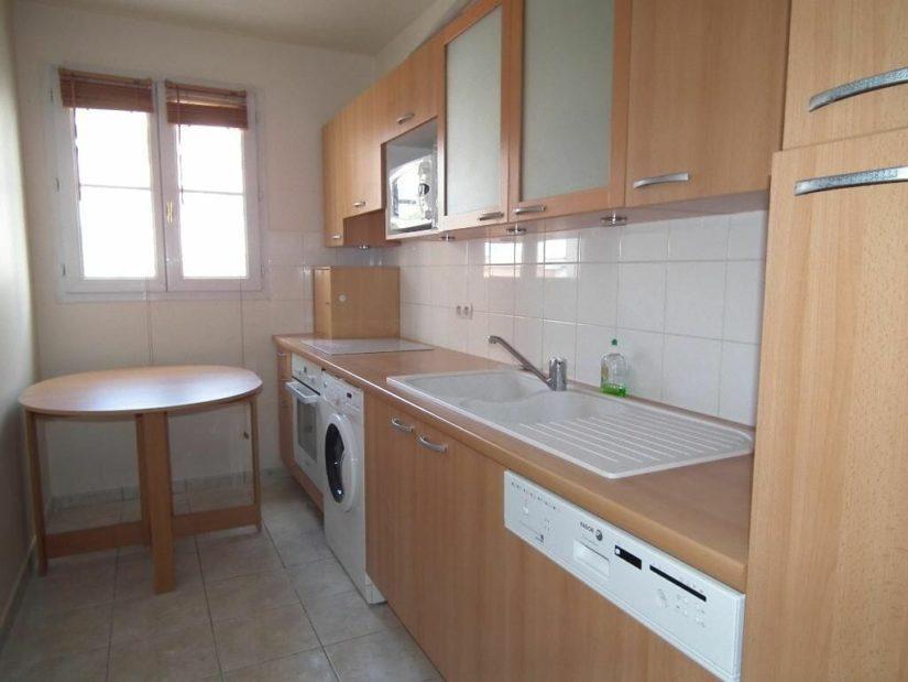 appartement alfortville location: 3 pièces 63 m², cuisine indépendante entièrement équipée