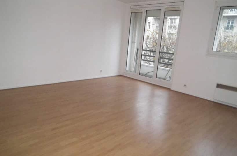 location charenton le pont: appartement 2 pièces 47 m², séjour, 2 balcons, immeuble récent de standing