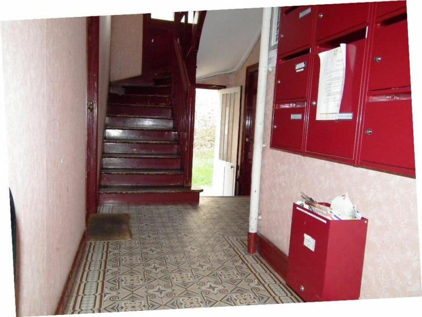 agence immobilière ouverte le samedi: studio 24 m², hall de la résidence, au 1° étage