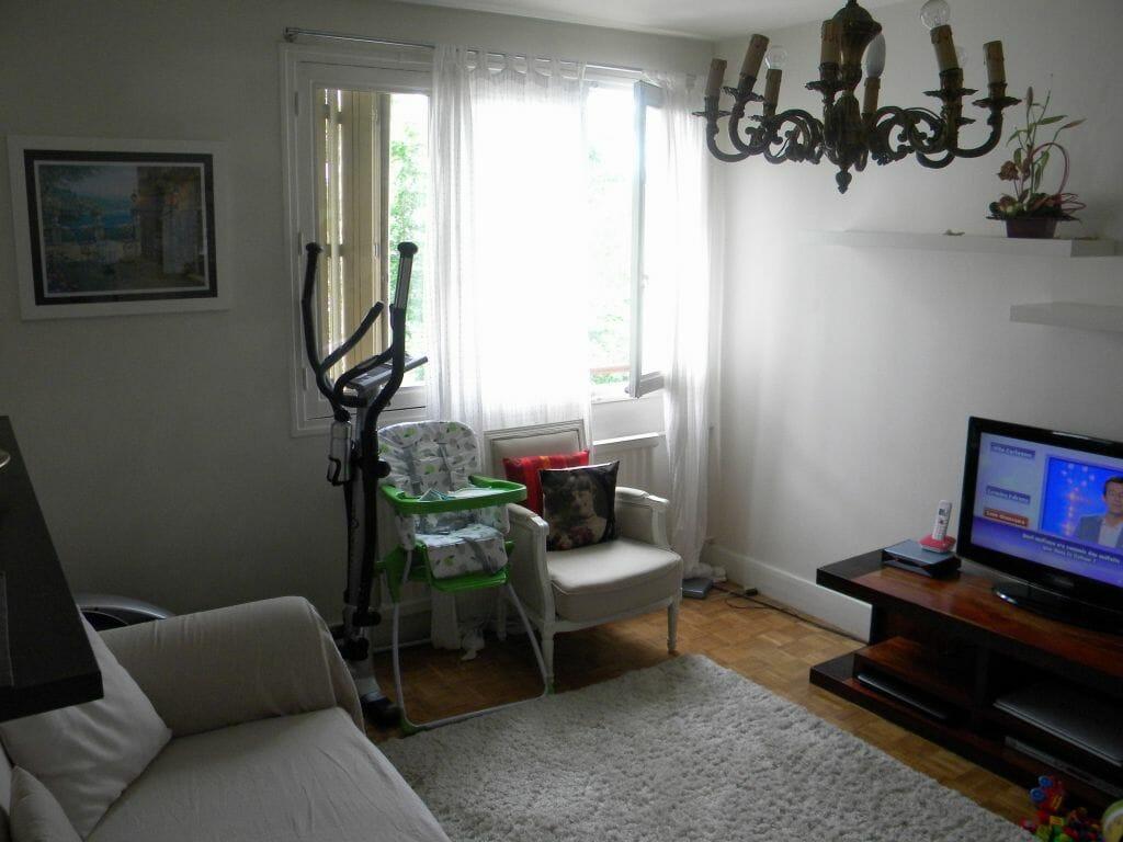 location appartement maison alfort: 2 pièces 37 m², beau séjour lunimeux