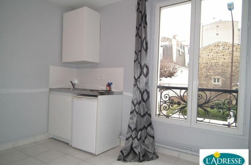 studio à louer charenton le pont: 12 m², pièce à vivre avec coin cuisine, secteur écoles, proche métro